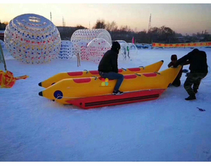Inflatable Snow mobile Banana Boat,Summer Hot Inflatable Banana Boat