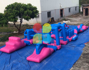 Outdoor Floating Inflatable Water Park Water Games For Summer