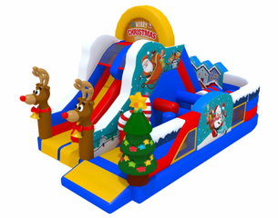 Inflatable Chistmas theme park for rent business