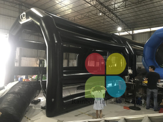 Guangzhou Rainbow inflatable baseball cage tent