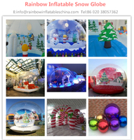 PUMP UP YOUR BUSINESS WITH THIS CUSTOMIZED INFLATABLE SNOW GLOBE
