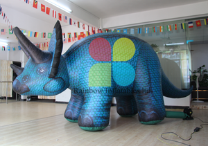 Hot sale giant inflatable rhino / inflatable rhinoceros for advertising