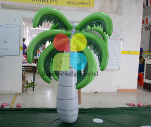 Airtight Inflatable coconut palm tree for Outdoor and indoor Decoration