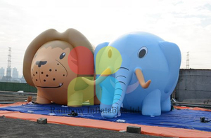 Customized Advertising Inflatable Elephant for Decoration