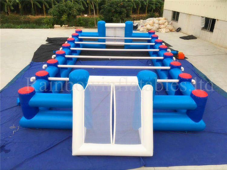 Hot Sale Large Commercial Inflatable Human Foosball Human Table Football Game
